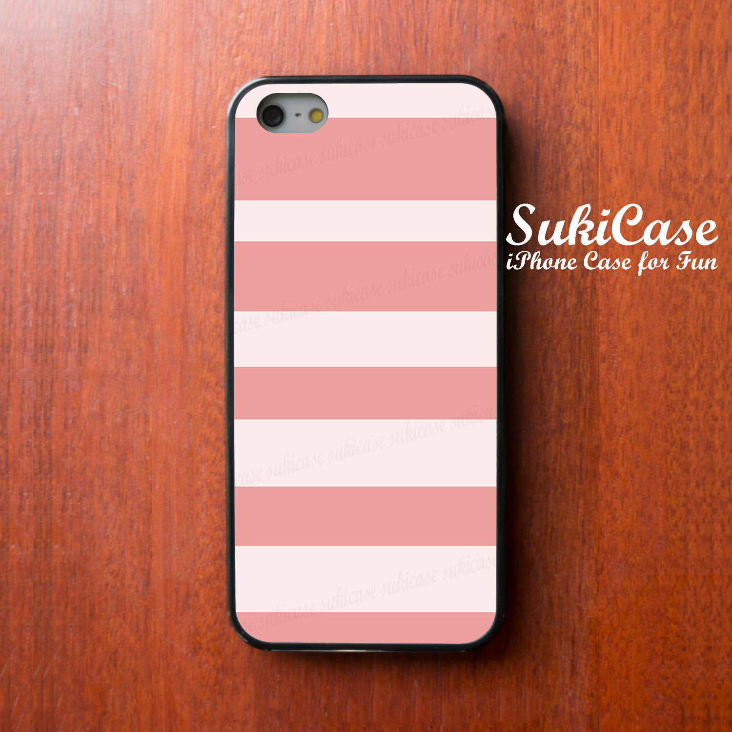 finest selection 7ad22 e112c IPHONE 5S CASE Unequal Parts Different Size Pink Stipe IPhone Cases IPhone  5 Case IPhone 4 Case Samsung Galaxy S4 Cover IPhone 5c IPhone 4s